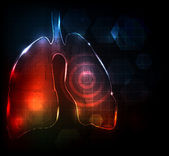 Lungs Abstract medical wallpaper Bright and bold design