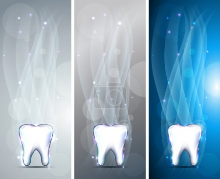 Beautiful tooth banners