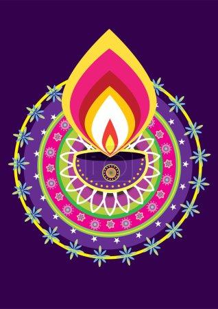 Diwali Candle Light