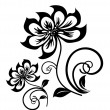 Ancient Traditional paper cut pattern illustration...