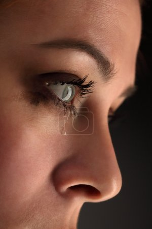 Photo for Beauty girl cry - Royalty Free Image