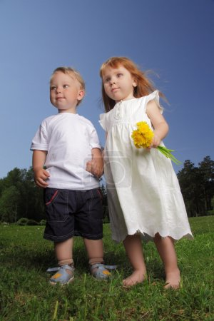 Photo for Baby friendship - Royalty Free Image
