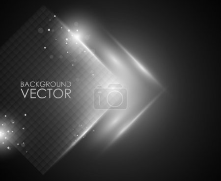 Photo for Abstract vector background - Royalty Free Image