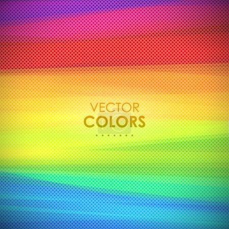 Illustration pour Fond vectoriel coloré - image libre de droit