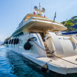 Luxury yacht of Portofino coast, Italy...