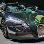 Постер, плакат: 83rd Geneva Motorshow 2013 Bugatti Veyron