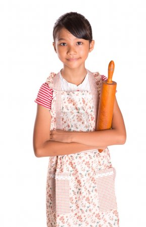 Girl With Rolling Pin