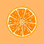 Orange vector illustration