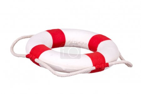 Life buoy isolated