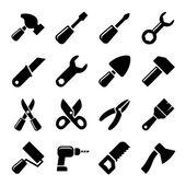Working tools icon set