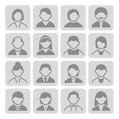 User icons set 3-2