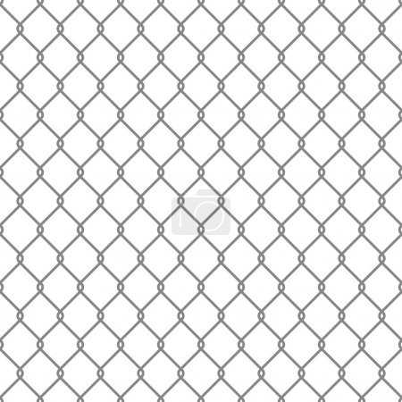 Illustration for Steel Wire Mesh Seamless Background. Vector illustration - Royalty Free Image