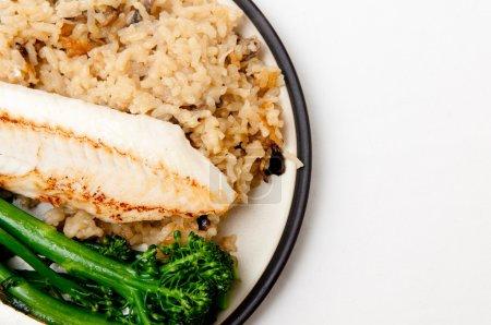 rice flour coated tilapia fish