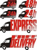 Free and express delivery fast courier
