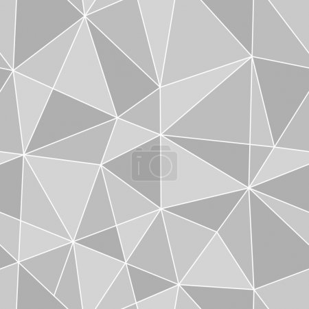 Illustration pour Texture transparente triangles, abstract vector art illustration - image libre de droit