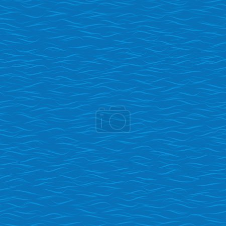 Illustration for Seamless abstract water texture background - Royalty Free Image