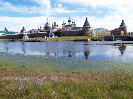 View of the Spaso-Preobrazhensky Solovki monastery, Russia
