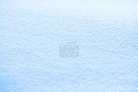 effective sky blue snow background, very tiny focus