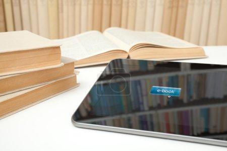 E-learning with e-book