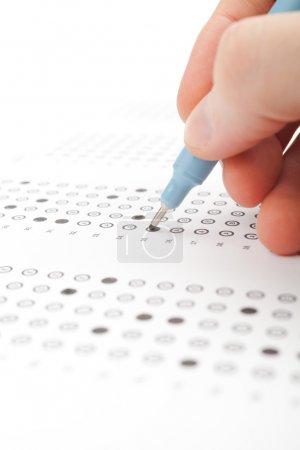 Student test (exam)
