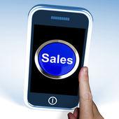 Prodej na telefonu zobrazuje akce a nabídky