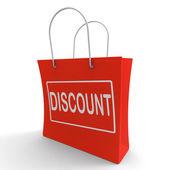 Sconto shopping bag: taglio di prezzo o ridurre
