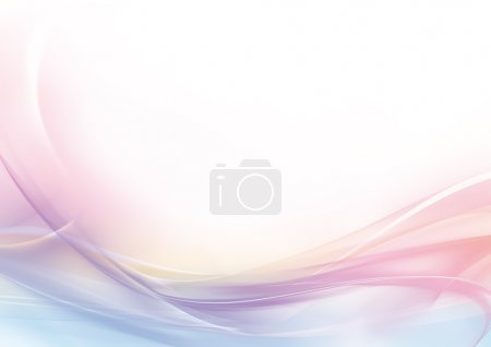 Photo for Abstract delicate background of pastel colors: pink, blue, and white - Royalty Free Image