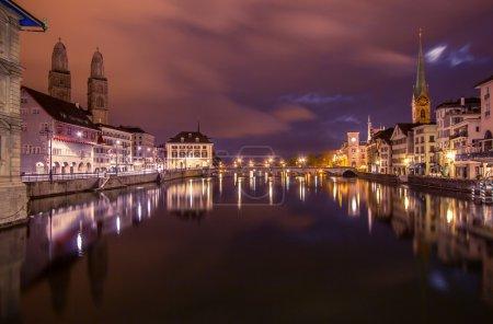 Photo pour Swiss ville zurich - image libre de droit