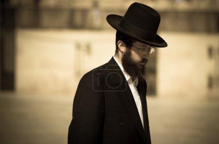 Old jew man in Jerusalem