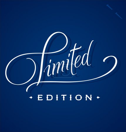 LIMITED hand lettering (vector)