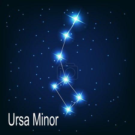 "The constellation "" Ursa Minor"" star"