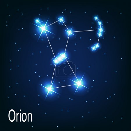 "The constellation ""Orion"" star"