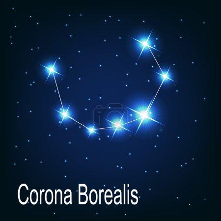 "The constellation ""Corona Borealis"" star"