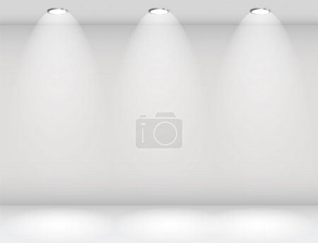 Illustration for Empty Wall for Your Text and Images, Vector Illustration - Royalty Free Image