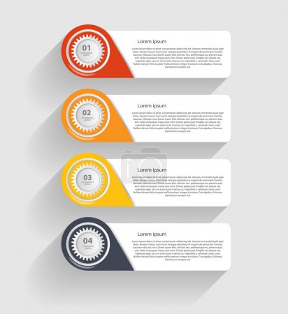 Illustration for Infographic Templates for Business Vector Illustration. - Royalty Free Image