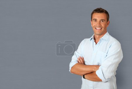Photo for Portrait of handsome smiling man - Royalty Free Image