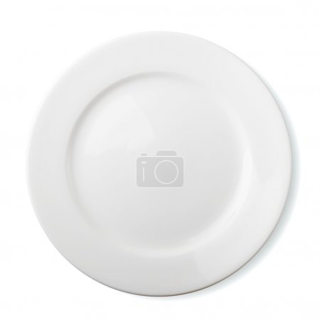 Photo for Empty plate isolated - Royalty Free Image