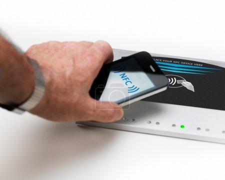 NFC - Near field communication / contactless payment
