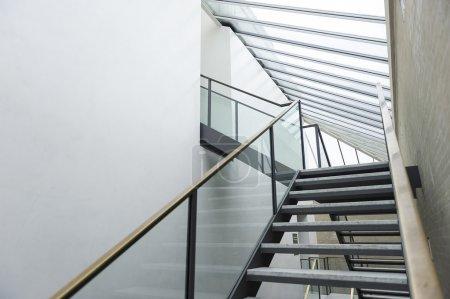 Modern dual staircase