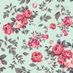 Decorative seamless pattern with beautiful shabby ...