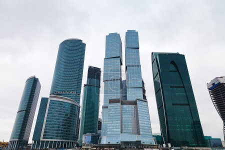 New Moscow city tower office building