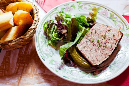 french meat pate