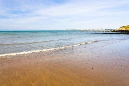 sandy beach in Normandy