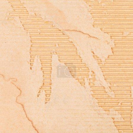 Photo pour Fond de carton d'emballage abîmé - image libre de droit