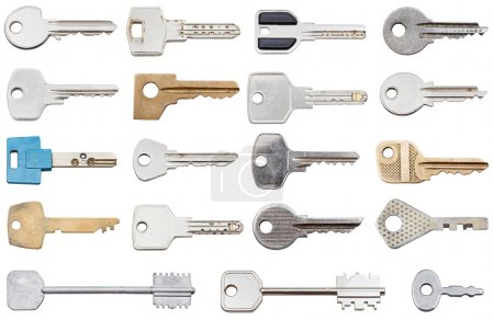 collection of different house keys