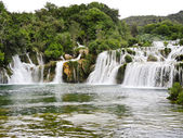 waterfall in Kornati region, Dalmatia,