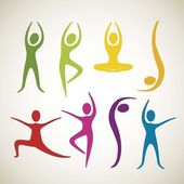 yoga and dance positions