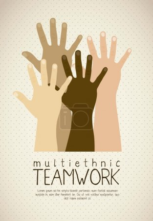 Multiethnic teamwork