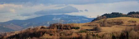 Beskid mountains, Poland - panorama