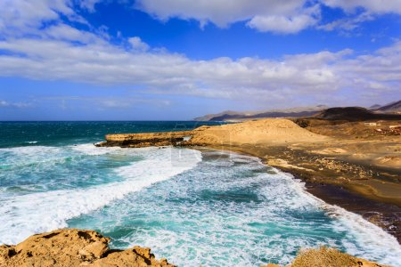 Pared Beach in Fuerteventura, Canary Islands, Spain